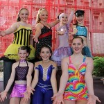 Tap stars: Georgia Anton, Maddy Krausz, Laura Bobe and Tilly Chalmers from Lisa Pellin Dancers were the winners in the under 12 tap troupe section.