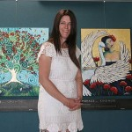 Standing out: Fiona Kennedy is now exhibiting at the Inverloch Community Hub.