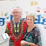 Tanzania teachers: Ross and Kerri Besley spent 12 months in Tanzania as teacher mentors.