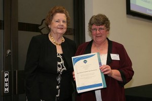 •Cr Jeanette Harding and Irene Spooner of Toora and District Progress Association.