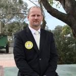 Trying for a seat: Matt Sherry will contest the federal seat of McMillan in the upcoming election as a candidate for the Palmer United Party.