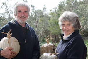 Great team: Gil and Meredith Freeman are at the forefront of the Grow Lightly vegetable bags.