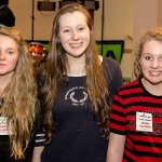 Band mates: Taliya Barker, Kate Facey and Maddie Barker were the victors.