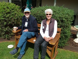 Gardening gurus: Max and Helen Kennedy at Myrtaceae.