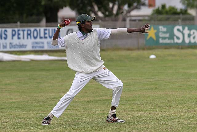 Great return: excellent bowling figures have earned Weerasinge Silva a place in the Victorian Country Cricket League's Team of the Year.