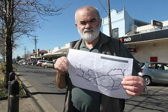 Transport push: South West Gippsland Transport Group's Max Semken of Leongatha has put the State Government on notice that South Gippsland demands more public transport services now.