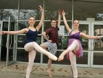 Top dancers: Jasmine Susic, Xavier Pellin and Lucy Hogan from Lisa Pellin Dance Studio  in Leongatha have taken their dancing skills to the next level.