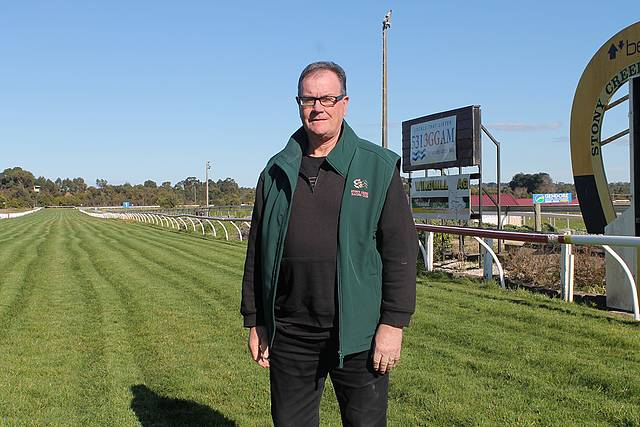 Vision and passion: Terry Grace is now working in his dream job as CEO of Stony Creek Racing Club.