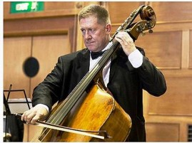 Fresh sounds: Stuart Riley of Kammermusik will take part in the Prom Coast Arts Council's classical concert.
