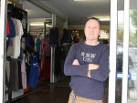 Had enough: Graeme O'Connor from Great Southern Outdoors in Leongatha is incensed by the robbery that took place at his store last Tuesday night.