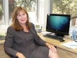 Settling in: Bass Coast Health's new CEO Veronica Jamison.