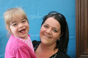 Sparkling bright: Marlee Greaves does not let Congenital Hyperinsulinism dampen her spirits. Mum Erin Greaves wants to raise awareness of the extremely rare condition and will hold a garage sale in Korumburra this Saturday, February 28.