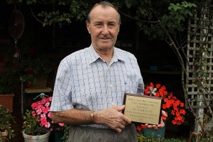Efforts recognised: Leongatha's Ian Rasmussen was recently presented with a life membership from the Berrys Creek Hall committee.