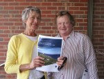 Still persevering: South Gippsland Equestrian/Exhibition Working Party members Janine Bullock (left) and Bev Shandley addressed South Gippsland Shire Council last Wednesday regarding funding arrangements for the proposed centre.