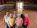 Dalyston Hall: from left, committee of management Pater and Lorna Dawson, Grant Davies, Dot Slade, Stephen Wilbourne and Gael Cresp will be working with Bass Coast Shire Council to develop a plan for their hall as part of the community halls project.