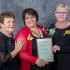 Life membership: this award was a total surprise for Maria Evison. She has given over 20 year's of service to the LDNA. Maria is pictured, centre, with Pat Kuhne and Julie Grant, president, LDNA.