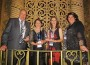 High accolade: Barry Charlton, Cheryl Hulls, Amanda Ford and Laura Rowe of Berrys Creek Cheeses were honoured to be there for the awards night where they scooped the top industry award in Australia.