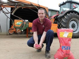A-maize-ing: Hayden Bowden from Bowden Agricultural Contracting in Yarram with the strip tillage machine that cultivates, fertilises and sows maize with one pass.
