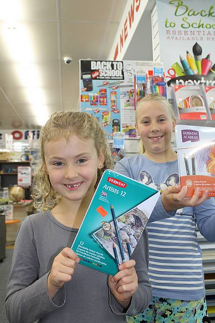 Students get ready: from left, sisters Macey Turner, 6 and Kaya Turner, 10 are looking forward to heading back to Leongatha Primary School to start their new school year in grades one and five. To make sure they have a smooth start to the school year, they called into Leongatha Nextra Newsagency. The store is well stocked with a great range of school supplies and is offering great specials in the Back to School catalogue sale.