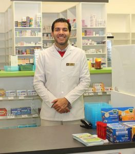 "Drugs on tap: newcomer to the area and Korumburra resident Sam has had his hands full since Nyora Pharmacy opened a month ago, particularly with the number of customers growing so rapidly.  ""People are loving having a pharmacy in the town,"" he said."