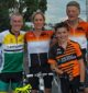 Well done: the winners' group from racing at Dumbalk on Saturday, May 7 with A Grade placings are, from left, second Tony Giles, first Sally Head and third Rod Cheyne. Front, B Grade winner Kaleb Jans. Fourth home but fastest over the 46 kilometre course was Thomas McFarlane who road off scratch with a time of 1.12.1.