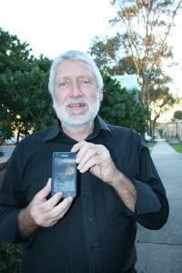 Tech age: Wattle Bank's Geoff Ellis said live streaming Bass Coast Council meetings would result in better community engagement, as residents could easily access the meetings on their devices.