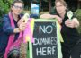 Dummy free: from left, South Gippsland Shire Council candidates Di Tod and Rosemary Cousin refuted claims they are dummy candidates in the council election.