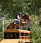 Up and over: Kardella equestrian Molly Barry recently competed at the Australian International Three Day Event in the three star competition on her horse, La Muso.
