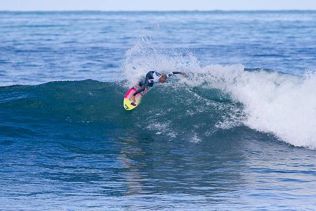 Champion surfer: U14 Australian Champion Sage Goldsbury of Phillip Island. Photo Credit: Surfing Victoria/Elley Harrison.