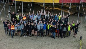 Job well done: all the event staff of Tarwin Lower's UNIFY festival, from volunteers to event organisers, celebrated another successful year of the heavy music event that finished last Sunday.